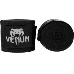 Бинты боксерские Venum 4m Handwraps (черные)