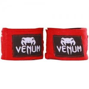 Бинты боксерские Venum 2.5m Mexican (красные)