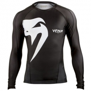 Рашгард Venum Giant Long Sleeve - Black