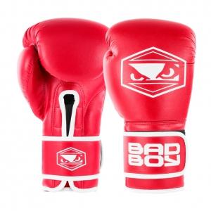 Перчатки боксерские Bad Boy Strike Red