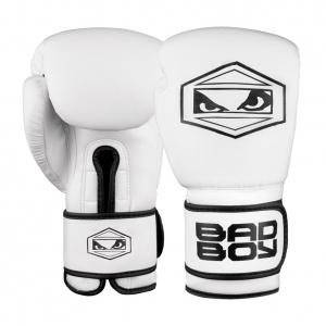 Перчатки боксерские Bad Boy Strike White